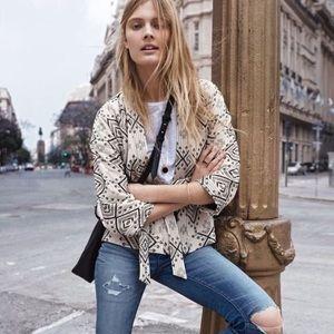Madewell • LIKE NEW Arrowhead Kimono Jacket